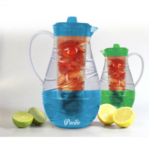 Water Jug Fruit Infuser 2.3l by Pacific Bonnington Plastics